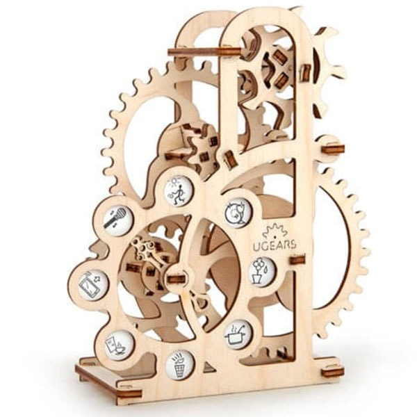 Self Propelled Unique Mechanical 3D Puzzle