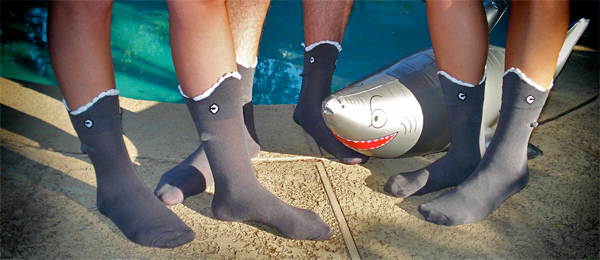 3D Shark Shaped Socks