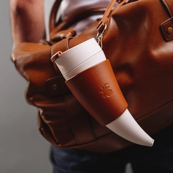 Unique Goat Horn Coffee Cup