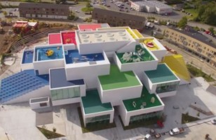 Spend The Night In The Incredible Lego Bricks House