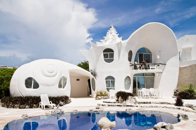 Incredible Seashell House