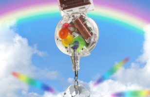 Stunning Swarovski Crystal Solar Powered Rainbow Maker