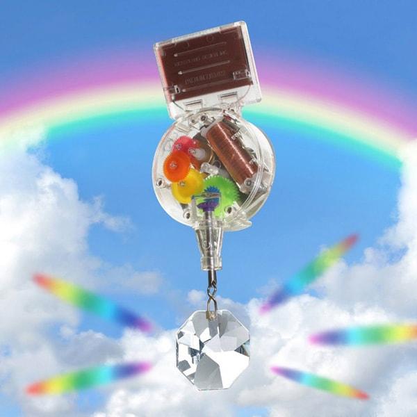 Stunning Swarovski Crystal Solar Powered Rainbow Maker