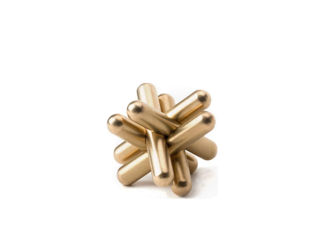 Classic Jack Solid Brass Puzzle