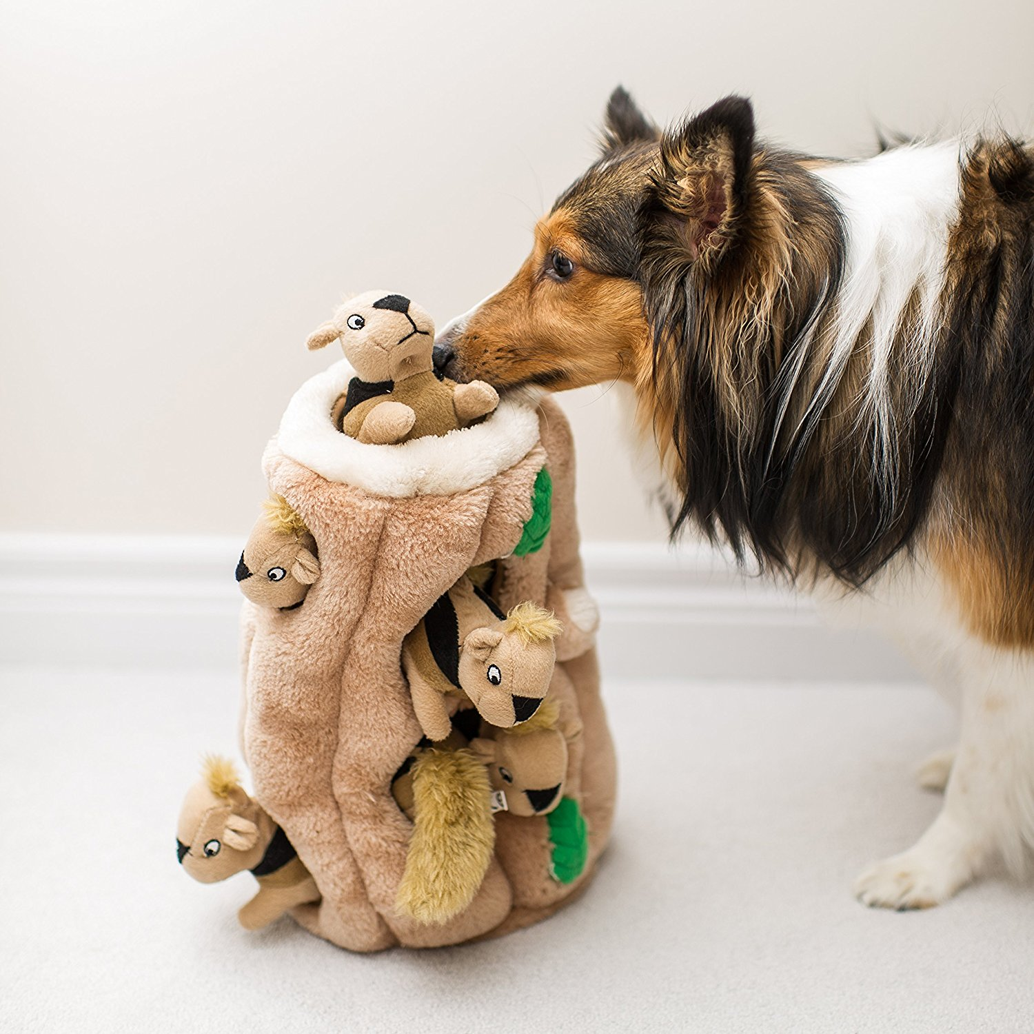 Puzzle Plush Squeaking Toys for Dogs