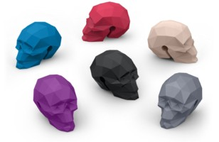 Geometric Bar Bones Skulls