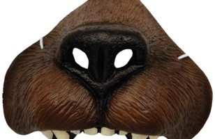 Men's Bear Nose Costume Accessory