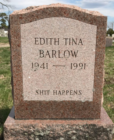Humorous Tombstone Markers