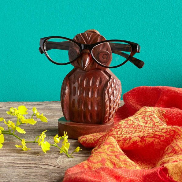 Eyeglasses Holder in Shape of an Owl