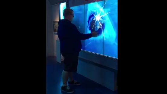 Virtual Shark Attack Scares Man