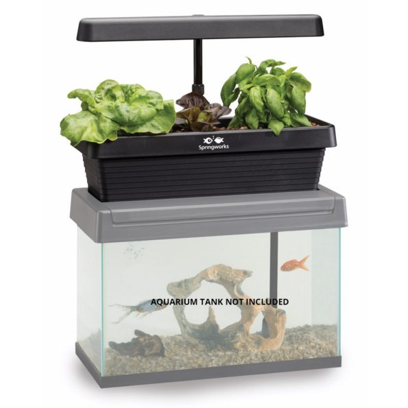Innovative Gardening Tool with Aquarium