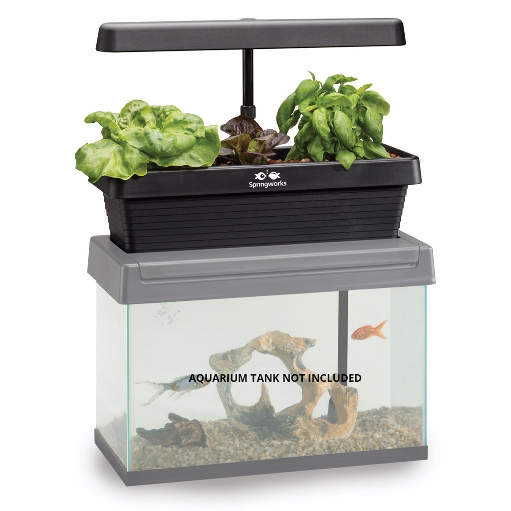 Innovative Gardening Tool with Aquarium