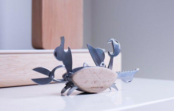 Beechwood Crab Multi Tool