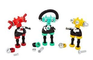 Build Your Own Nutty, Screwy Bolt Bots