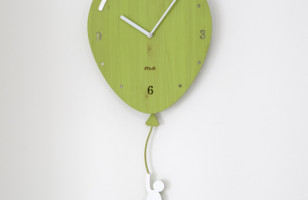 Floating Balloon Wall Clock