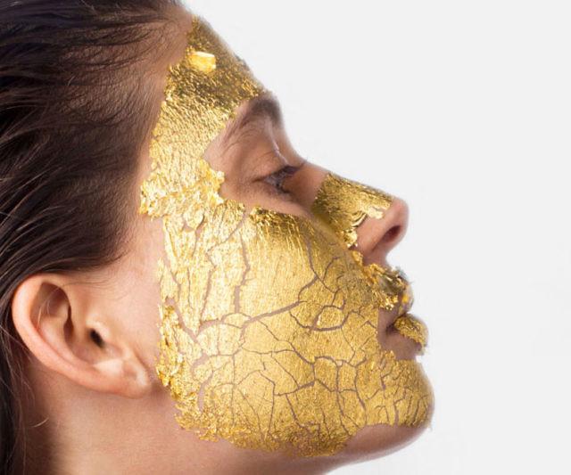 Ancient Gold Facial : Majestic Pure 24K Gold Facial Mask