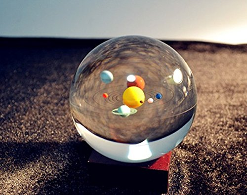 Mini Solar System Crystal Ball
