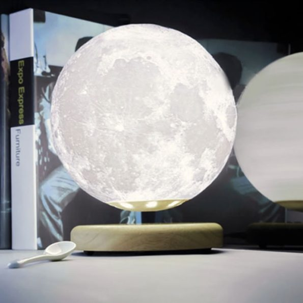 Hi Tech Lunar Magic Moon Lamp Incredible Things