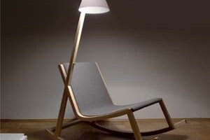 Electricity Generating Rocking Chair