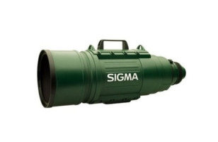 Gigantic Telephoto Zoom Lens
