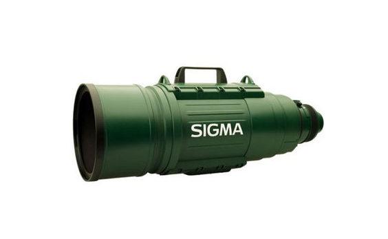 Gigantic Telephoto Zoom Lens