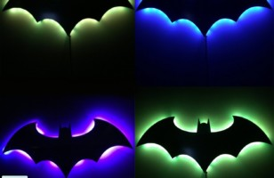 Bat Shaped LED Wall Lights