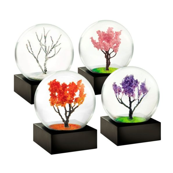 Mini Snow Globes: Four Seasons
