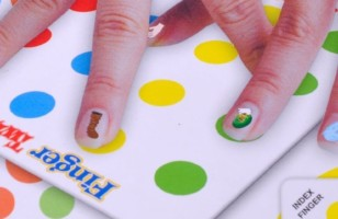 Funny Finger Twister Board