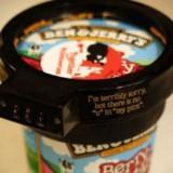 Keep away from my ice cream!