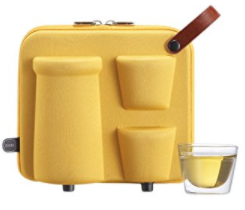 ZENS Lifestyle Portable Tea Set