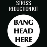Bang Head Here Wall Hanging