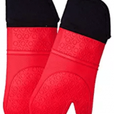 Safe and Comfortable Silicone Oven Mitt