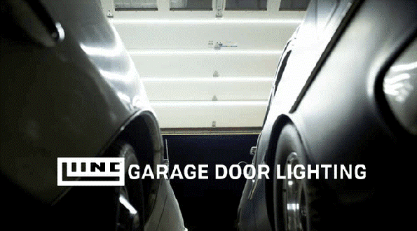 Garage Door Lighting providing daylight saving all-year round with 14,400-lumen system