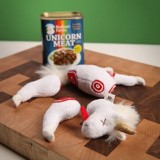 Easy-Open Canned Unicorn Meat Excellent Source of Sparkles, Magic in Every Bite, 5.5 Ounce – Stuffed Plush Toy