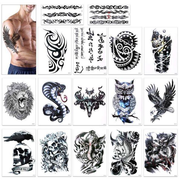 Konsait Temporary Tattoos