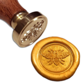 Little Bee Seal Stamp