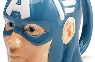 Marvel Superhero Molded Mug