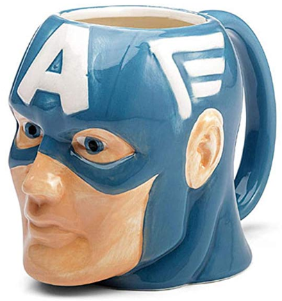 Marvel Superhero Molded Mug