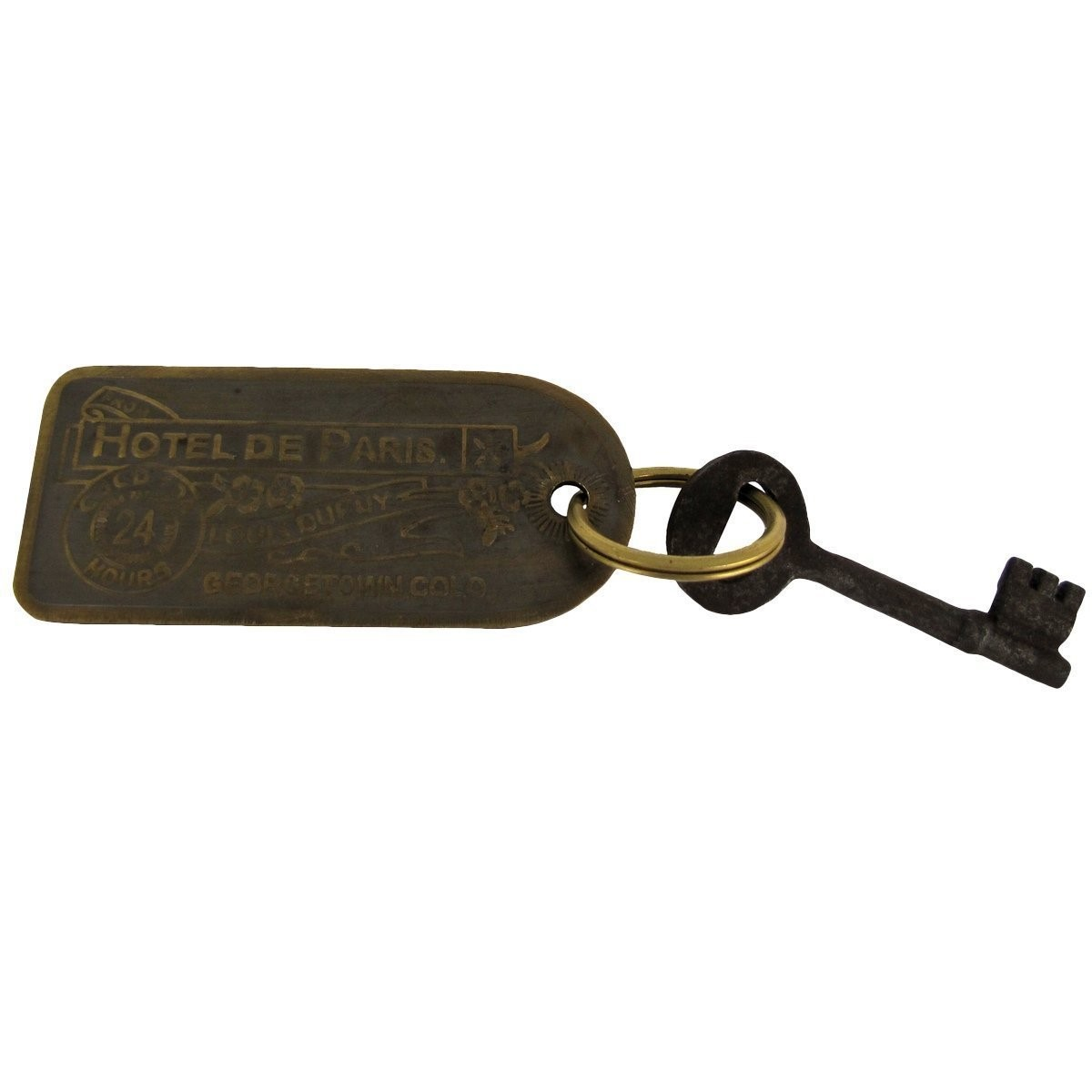 Old West Hotel Room Key