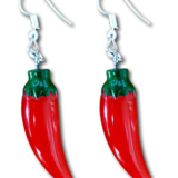Red Chili Pepper Earrings