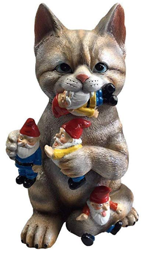 Lawn Kitty For Your 'Kitty To Play With' Or Is It For Interior Decoration!?