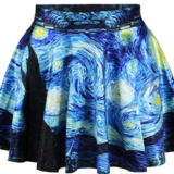 Starry Night Mini-Skirt