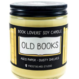 Old Book Candle