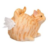 WHAT ON EARTH Cat-Butt Tissue Holder