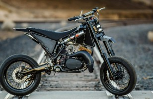 Turn Your Yamaha Into a Supermoto