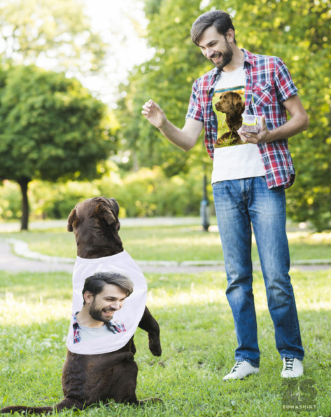 Matching Owner and Dog T-shirts
