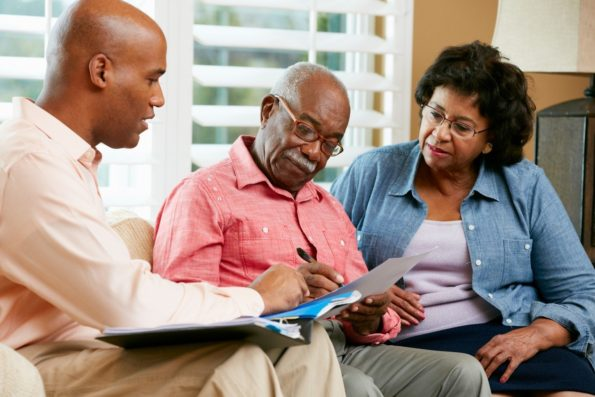 What is the meaning of Burial insurance for seniors and how does it work?