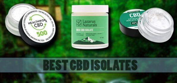 CBD Isolates For Chronic Pain