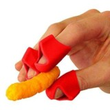 CHIPFINGERS Finger Covers for Cheesy Food