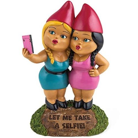 Selfie Sisters Garden Gnomes by BigMouth Inc.